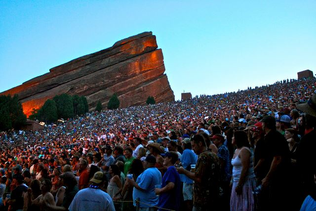 Red Rocks crowd
