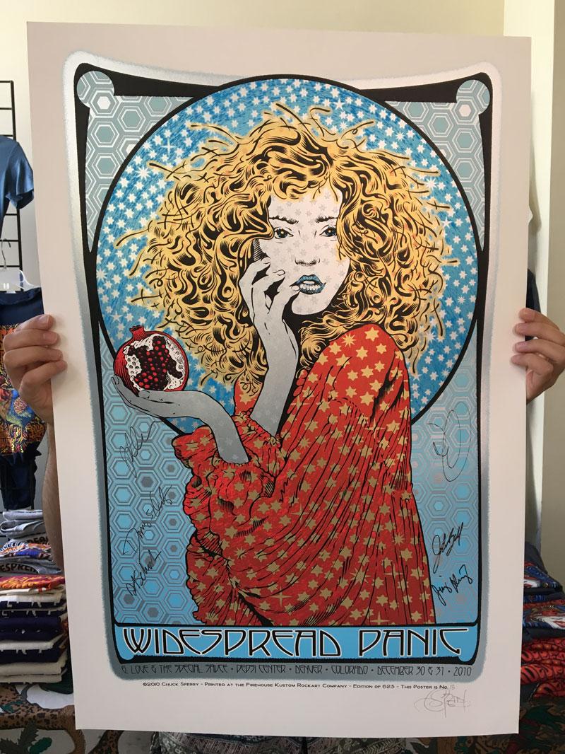 2010 Denver Signed Poster