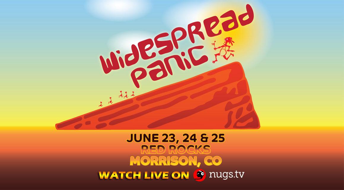 Red Rocks HD Webcast