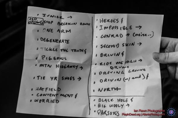 6/29/2013 Setlist