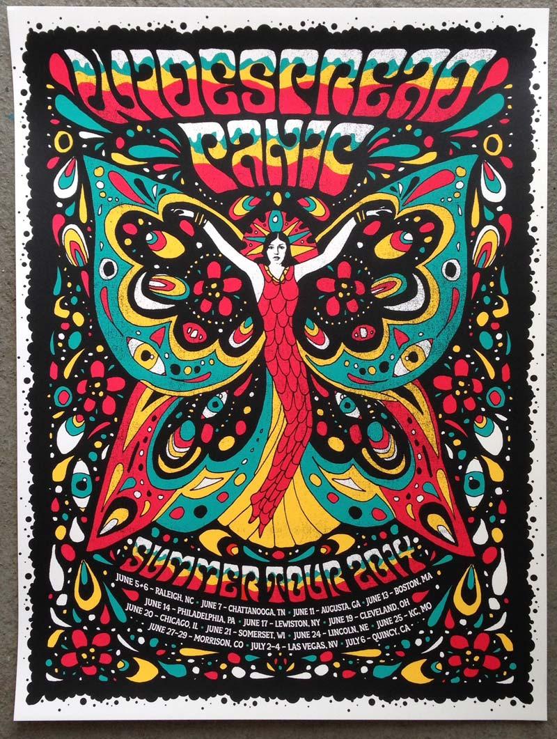 Summer Tour 2014 Poster