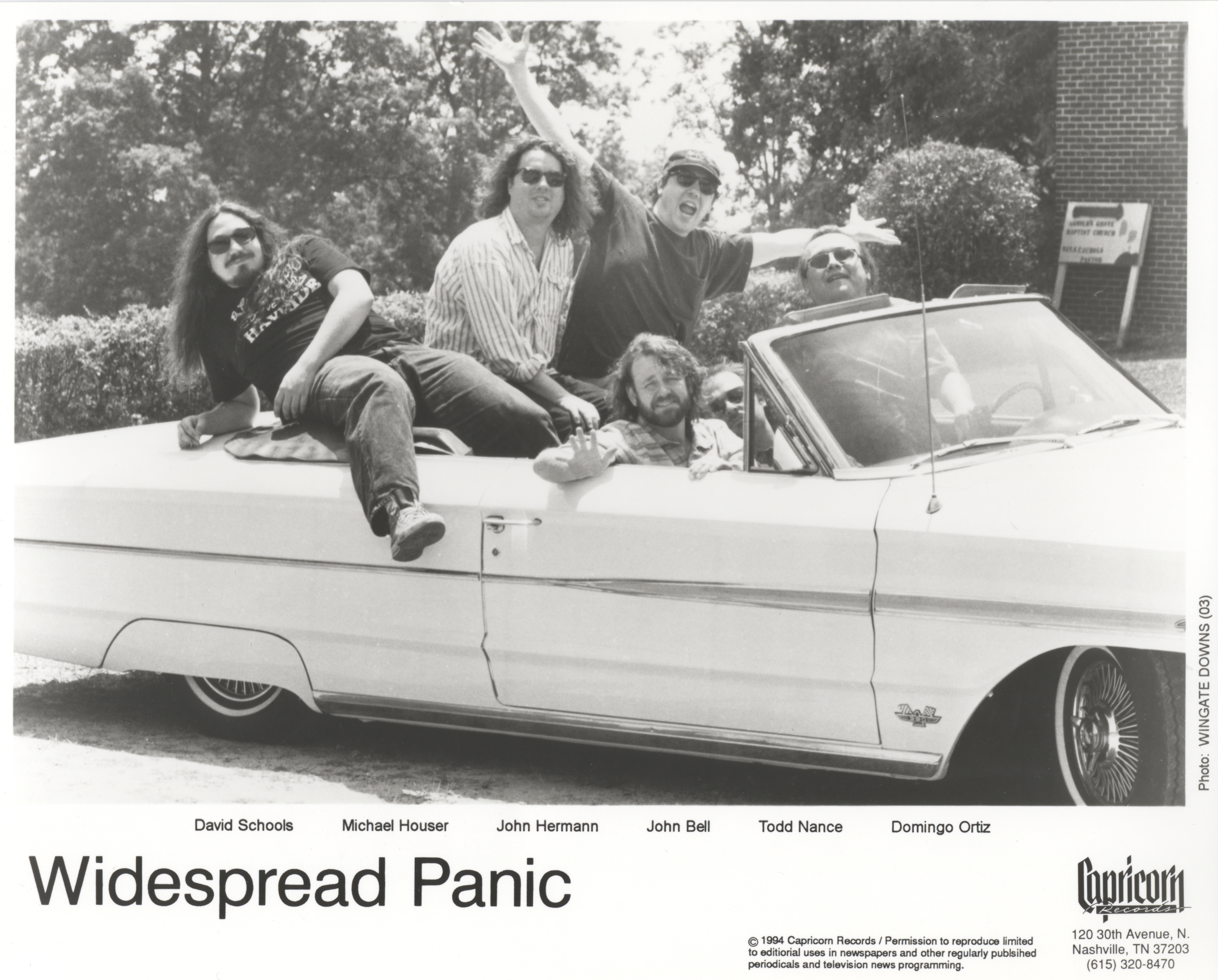 Widespread Panic 1994