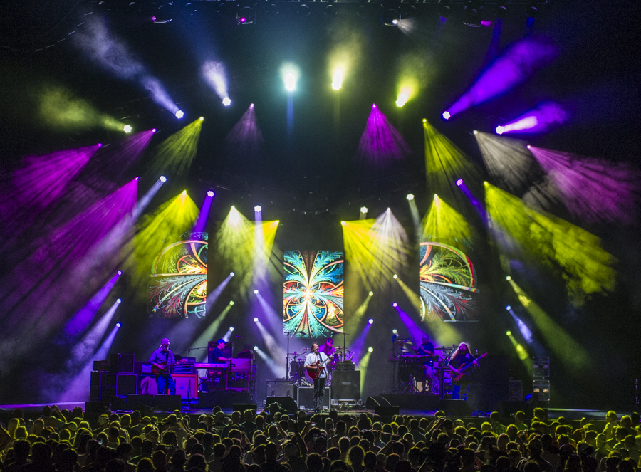 Widespread Panic Stage Shot