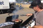 High Sierra grilling