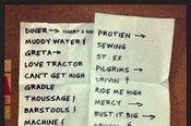 11/16/2013 Setlist
