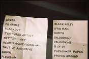 7/10/2013 Setlist