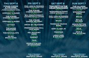 Lockn' 2014 Schedule