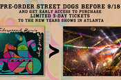 NYE Street Dogs PreOrder