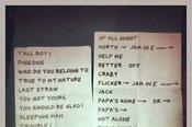 11/14/2013 Setlist